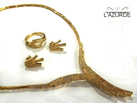 اشكال مجوهرات وذهب من لازوردى (1)