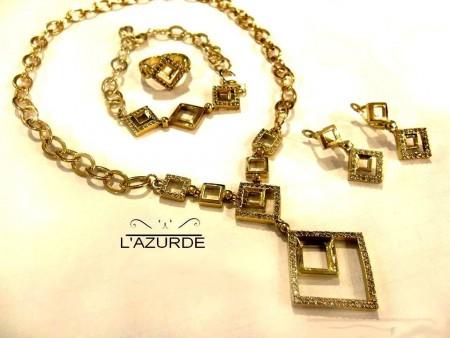 اشكال مجوهرات وذهب من لازوردى (6)
