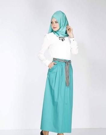 الوان ملابس المحجبات وتنسيقها (1)