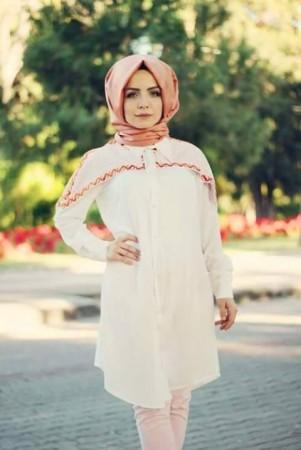 الوان ملابس المحجبات وتنسيقها (2)