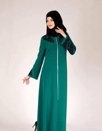 الوان ملابس المحجبات وتنسيقها (3)