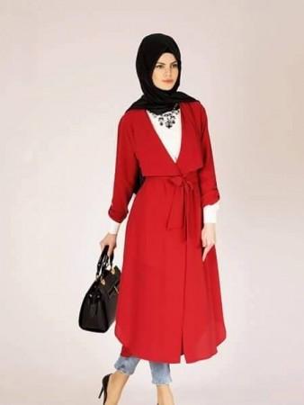 الوان ملابس المحجبات وتنسيقها (4)