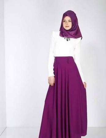 الوان ملابس المحجبات وتنسيقها (5)