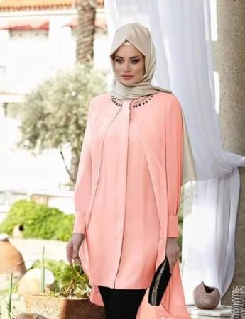 تنسيق ملابس المحجبات بالصور 2015 (1)