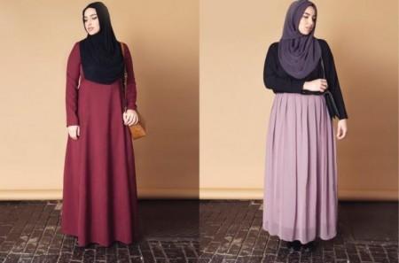 لبس المحجبات الحوامل بالصور (4)