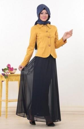 لبس محجبات شتاء 2015 بالصور (5)