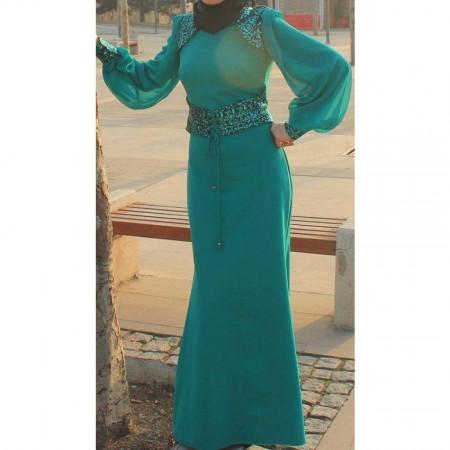محجبات ملابس ازياء للعيد 2015 (1)