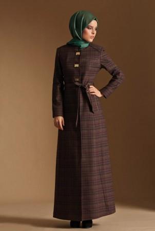 ملابس محجبات موضة 2015 للشتاء (3)