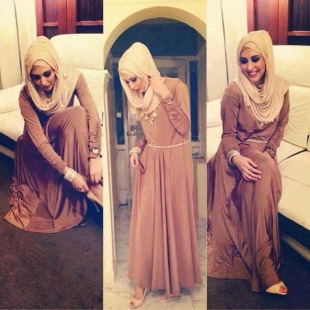 موضة ملابس المحجبات للعيد 2015 (1)