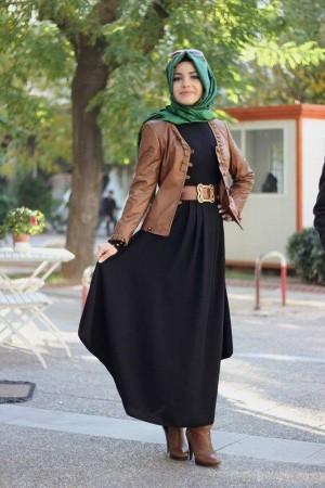 موضة ملابس المحجبات للعيد 2015 (2)