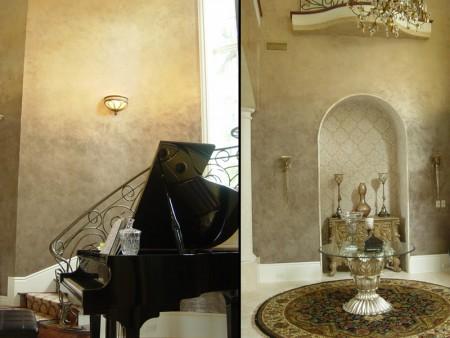 احدث الوان الحوائط 31 450x338 صور الوان دهانات حوائط المنزل و غرف النوم المودرن و الكلاسيكية