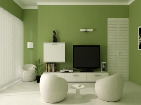 احدث الوان الدهانات للحوائط 2 450x338 صور الوان دهانات حوائط المنزل و غرف النوم المودرن و الكلاسيكية