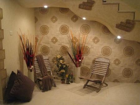 الوان حوائط 1 450x338 صور الوان دهانات حوائط المنزل و غرف النوم المودرن و الكلاسيكية