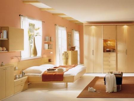 الوان غرف النوم اطفال 1 450x338 صور الوان دهانات حوائط المنزل و غرف النوم المودرن و الكلاسيكية