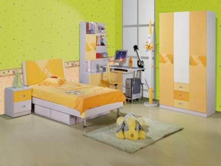 الوان غرف النوم اطفال 3 450x338 صور الوان دهانات حوائط المنزل و غرف النوم المودرن و الكلاسيكية