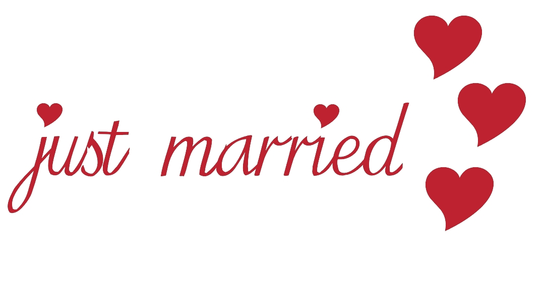صور just married فيس بوك (3)