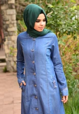 لباس محجبات ازرق (1)