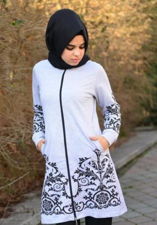 ملابس محجبات بالوان جديدة (3)