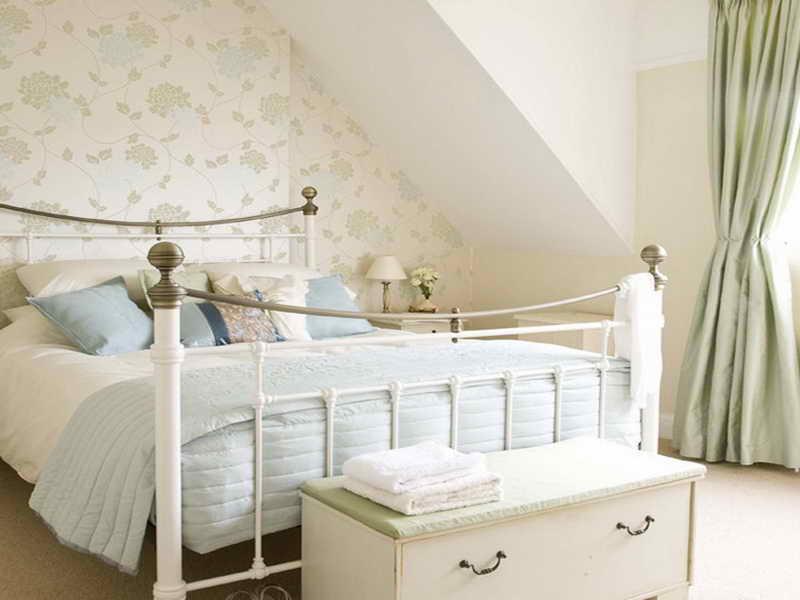 الوان غرف نوم بيضاء (1)