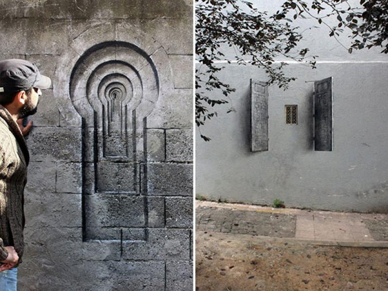 رسم ع الجدران  (2)