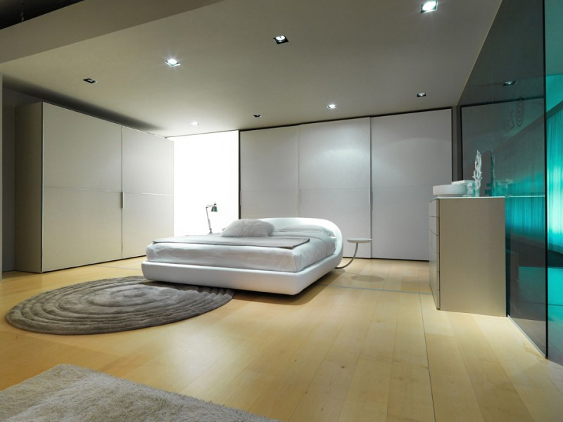 صور غرف نوم بيضاء  (2)