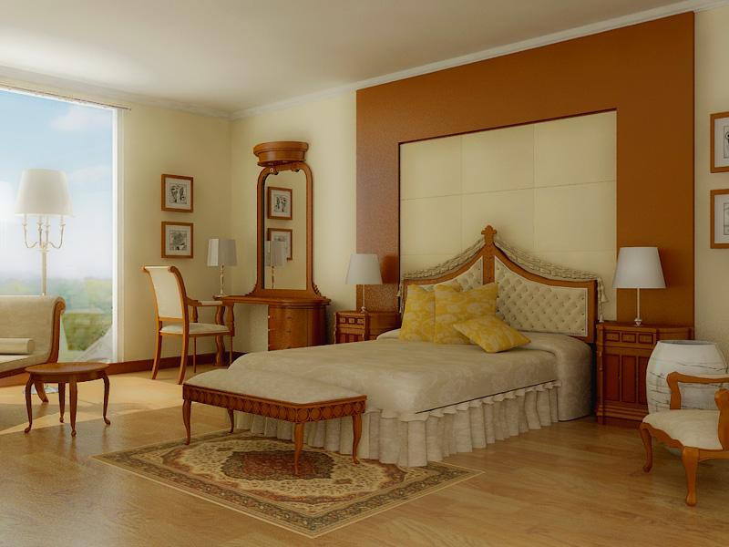 صور غرف نوم لون ابيض  (1)