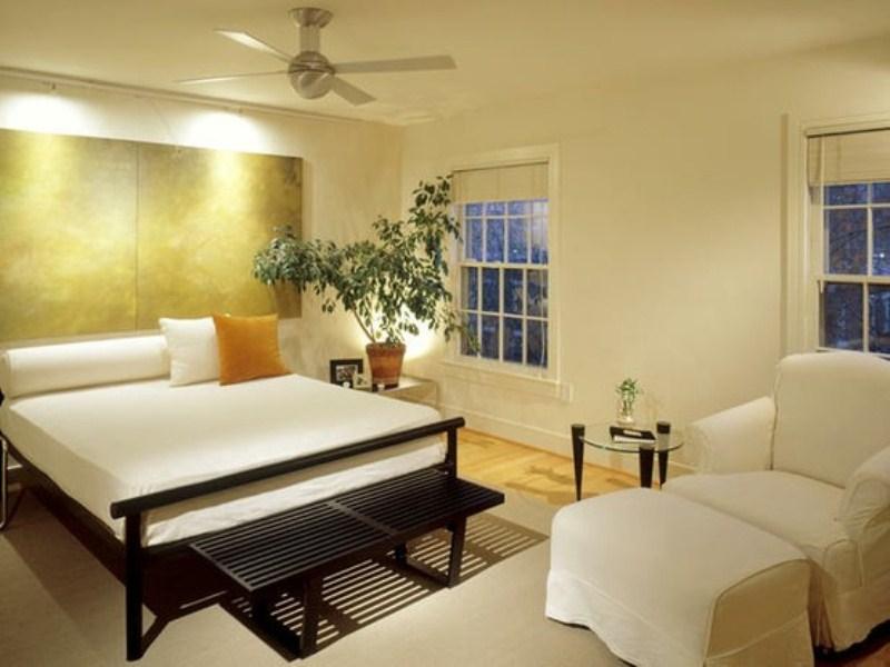 صور غرف نوم لون ابيض  (3)
