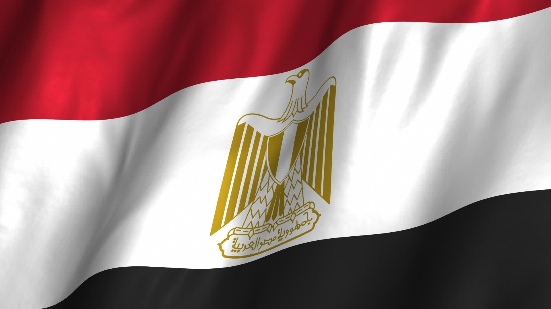 علم جمهورية مصر العربية (1)