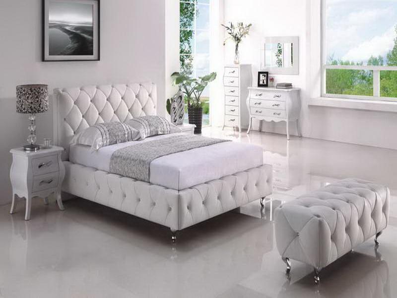 غرفة نوم ابيض  (3)