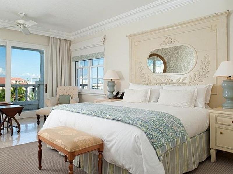 غرفة نوم بيضاء  (3)