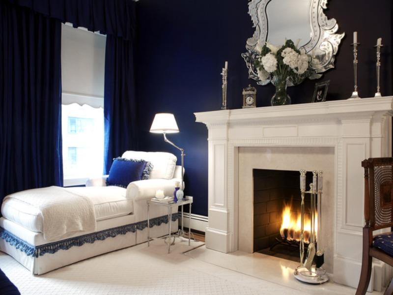 غرفة نوم بيضاء  (5)