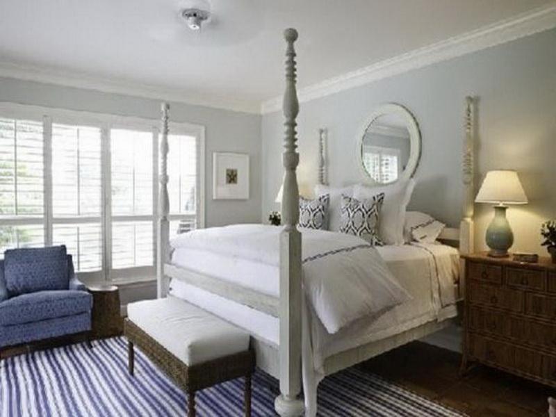 غرف نوم باللون الأبيض (1)