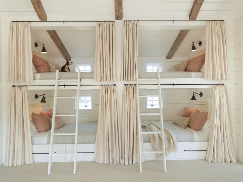 غرف نوم باللون الابيض  (1)