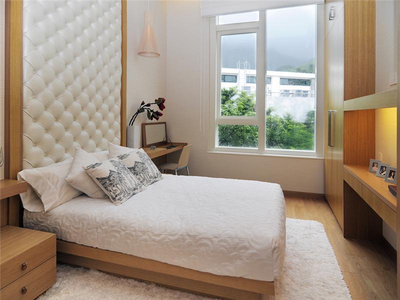 غرف نوم بيضاء (2)