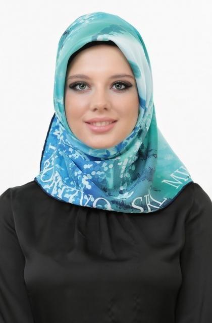 لفات حجاب بسيطة  (2)