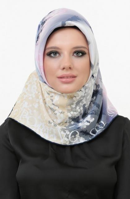 لفات حجاب بسيطة  (4)