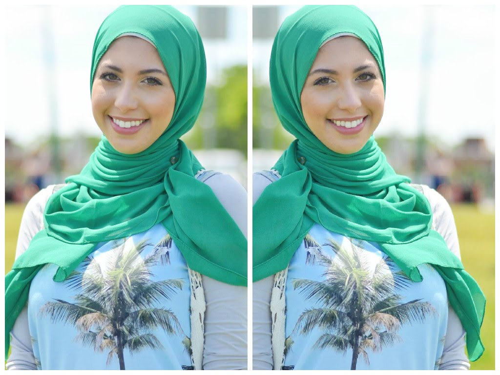 لفات حجاب خليجي  (1)