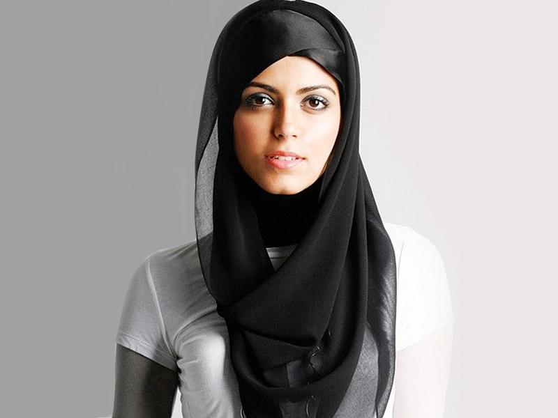 لفات حجاب خليجي  (3)