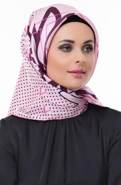 لفات حجاب خليجي  (4)