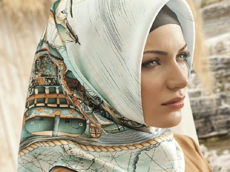 لفات حجاب للمناسبات  (4)