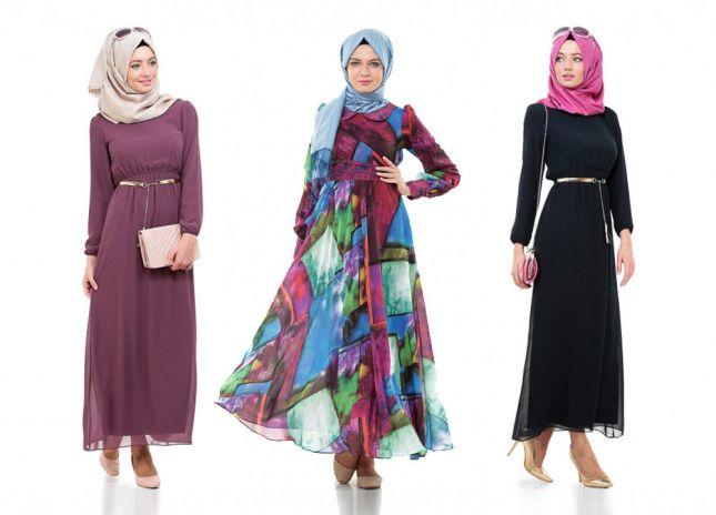ملابس محجبات جديدة تركيه (1)
