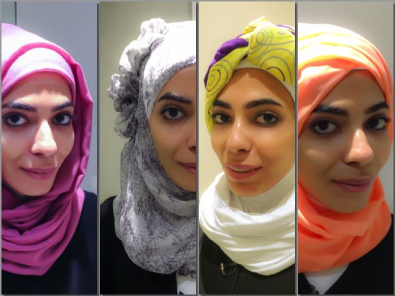 موديلات حجاب  (3)