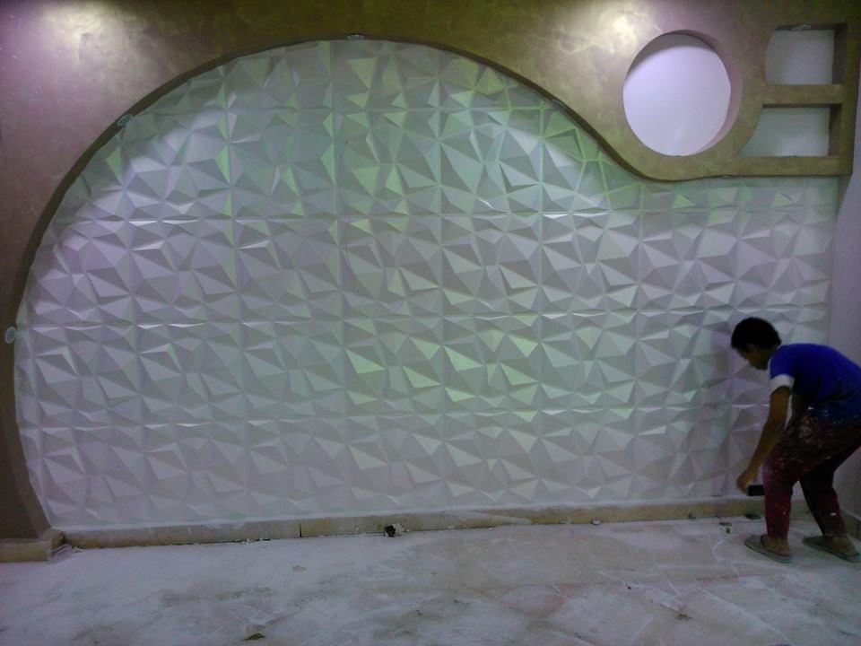 احدث اشكال وتصميمات ورق حائط ثري دي (2)