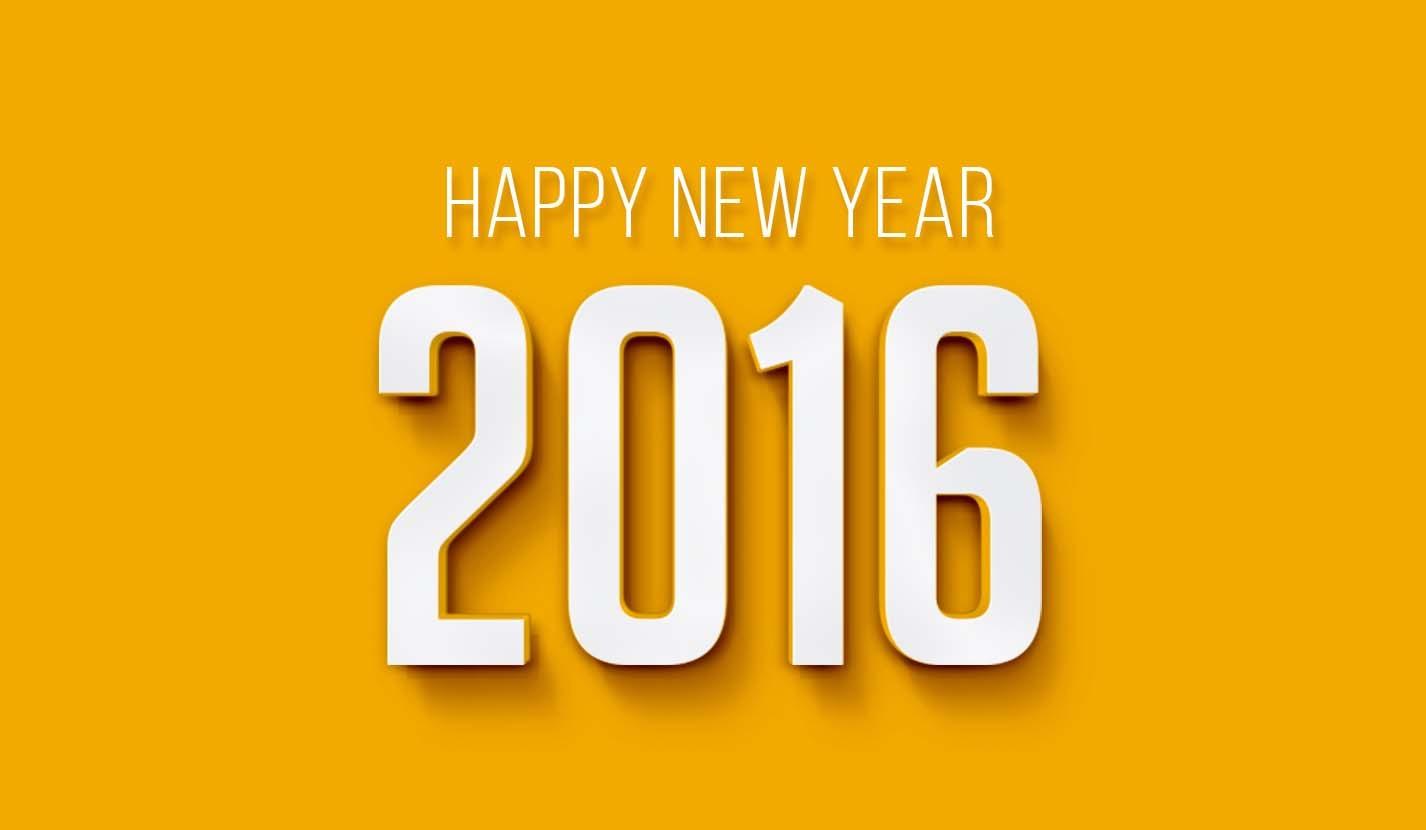برقيات تهنئة بالعام الجديد 2016 (2)