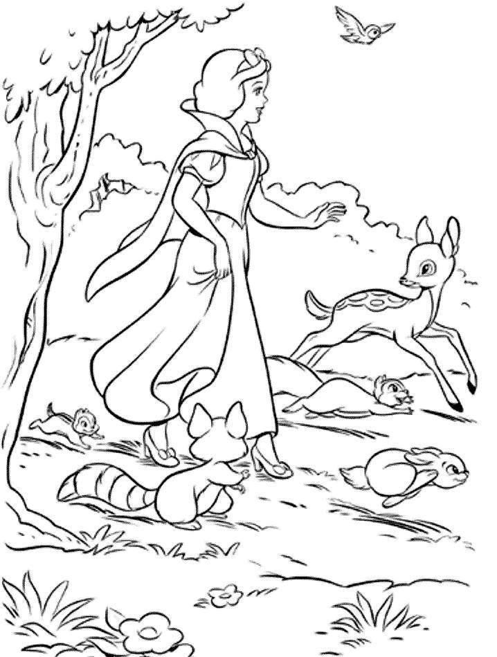صور رسومات كرتون للتلوين للأطفال لتعليم التلوين (1)