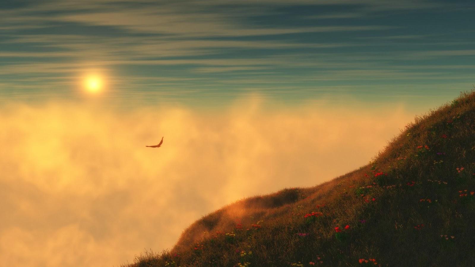 صور غروب الشمس احلي صور الغروب بجودة HD (2)
