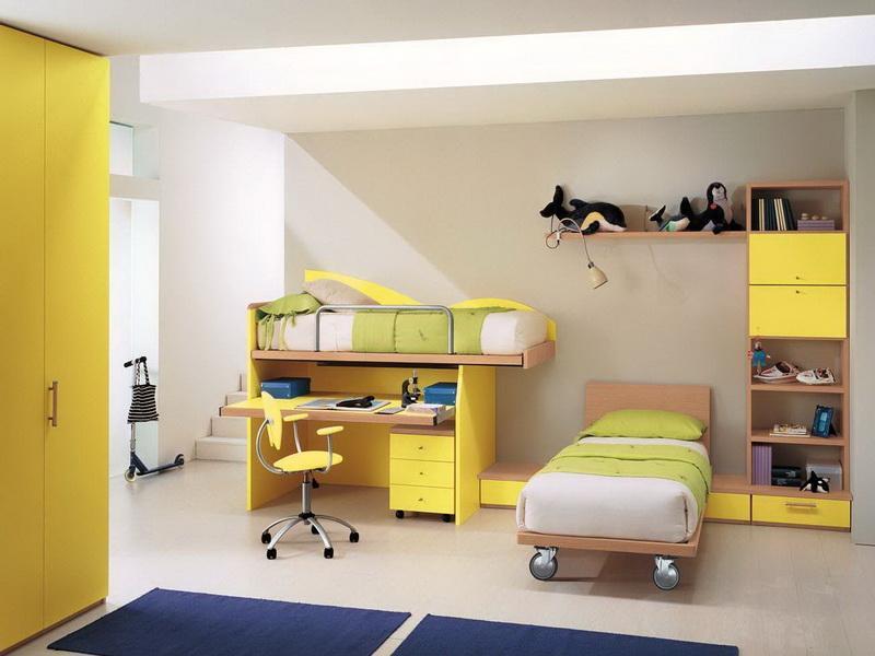 غرف اطفال جميلة 2016 بالوان فخمة من دمياط (1)