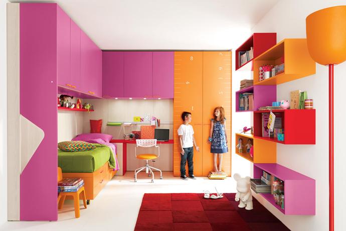 غرف اطفال فخمة بالوان جديدة2016 (4)
