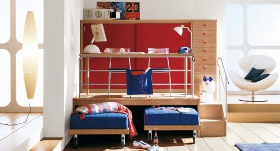 غرف نوم اطفال مودرن جميلة وشيك بتصميمات عالمية2016 (2)