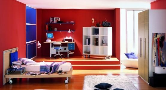 غرف نوم اطفال ولاد بالوان اولادي2016 (2)